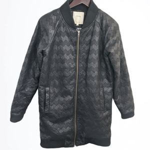 Anthropologie Numph quilted chevron jacket